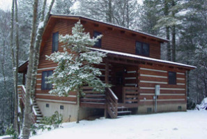 Fall Creek Cabins winter