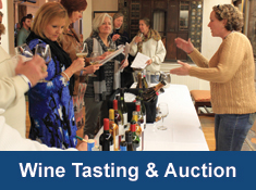 wine tasting and charity auction