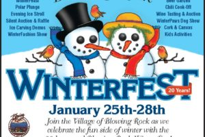 Blowing Rock Chamber in Final Preparations for the 20th Edition of WinterFest