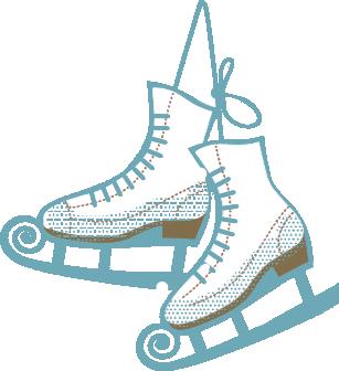ice skating in memorial park blowing rock winterfest rh blowingrockwinterfest com  skating rink clipart