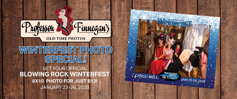 WinterFest Souvenir Photos at Professor Finnegan's Old Time Photos